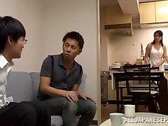 Eriko Miura mature and mischievous Asian nurse in position 69