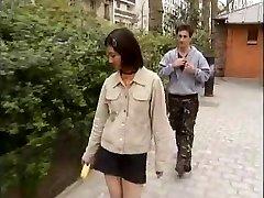 Korean college girl fucks western dicks -1