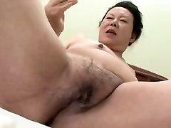 Japanese BBW Grandmother shino moriyama 66-years-aged H-0930