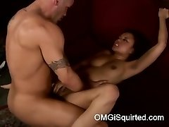 Annie Cruz gets naughty and bursts