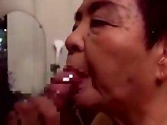 Japaneese दादी siep 2 चूसने