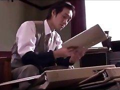 japāņu biroja meitene blowjob pakalpojumu