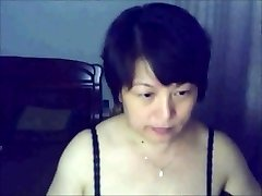 Chinese  lady on web cam