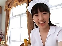 सॉफ़्टकोर एशियाई, नौकरानी, स्कर्ट,