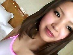 japoneză fată ascultător. amateur25