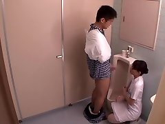 Miku Shirosaki, Rina Serino, Airi Minami v Hanjob Pomaga medicinska Sestra 3 2. del