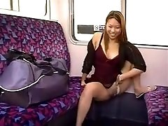 URINATING IN A TRAIN