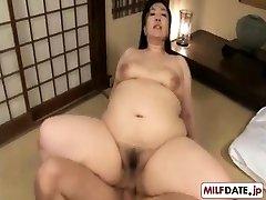 Mirno analni lep Japonski mama