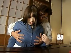 Crazy Japanese model Chitose Saegusa in Super-naughty cunnilingus, bbw JAV clip