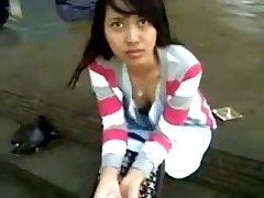 indonezijski-anggi exhibitionist iz bogor