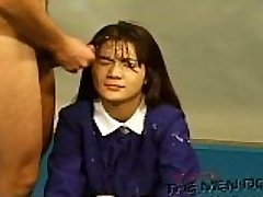 Bukkake Highschool Lesson 13 4/4 Chinese uncensored blowjob