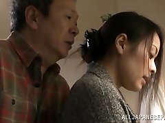 Mina Kanamori hot Chinese milf is a horny housewife