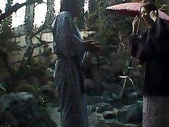 Tomoe Hinatsu fellates cock and gets pool drill