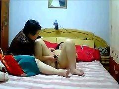 Kinijos MILF Lesbietės namų