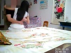 Ķīniešu pāris mājās whoring ieraksti Vol.03