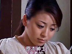 Huge-boobed Mom Reiko Yamaguchi Gets Doggied