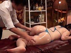 Liekninamasis Masažas Busty Japonijos Žmonos - 2