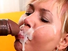 Lovely mature facial cumshot ::: Orientalist