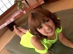 Sexy toy pornography along insolent Asian doll Kana Aono