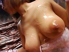 Asian girly-girl bondage Two