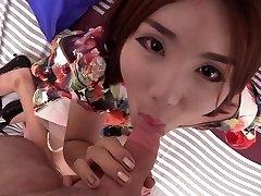 College-aged yo China Doll Gf Bareback