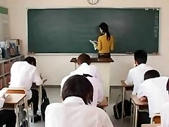 Maria Ozawa-scorching teacher having romp in school
