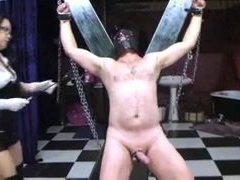 mimosa1 azjatyckich pani ciągnie swojego niewolnika