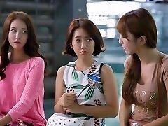 eun seo, hwa yeon, cho hyun femeia coreeană de la colegiul de artă sex