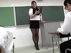 Yuki Sakurai - Sexy Japanese Teacher 1