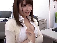 Female professor and student