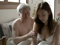 Korean Father-in-Law Plumb His Son's Wife