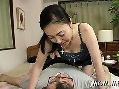 Voracious chinese maiden Kyoko Misaki is fingered