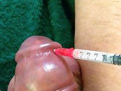 Saline injection