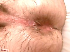 Barebacking Hairy Guy with Creampie