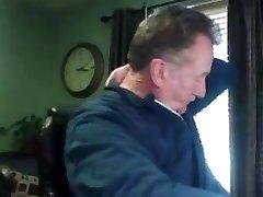 Grandpa stroke on web cam 4