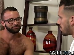 Horny boyfriends have sultry anal sex after a lengthy time