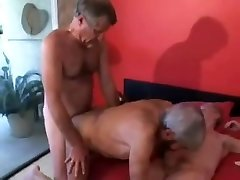 Mature Gay Duo Fuck