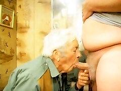 face fucking grandpa