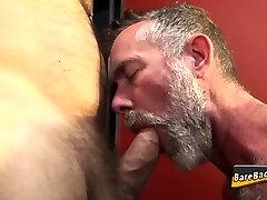 Mature bear barebacking