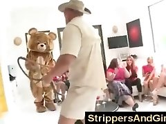 Original Dancing Bear party with beautiful nymphs