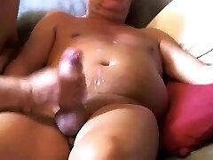 Milk dad's cock