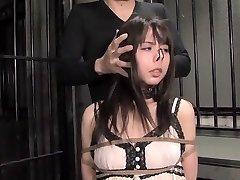 Exotic Asian model in Finest Fetish, BDSM JAV clip