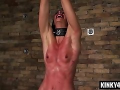 Hot pornstar sadism & masochism bondage and cumshot