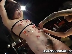 Very crazy bdsm session for the ugly slut