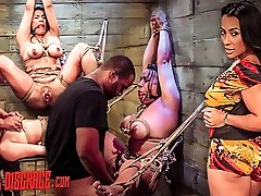 Becca Diamond's First Rope Suspension with Plenty of Domination & Submission Sex