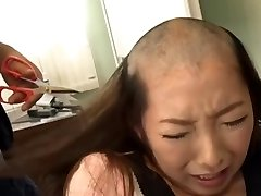 headshave japanese lady