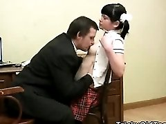 Sexy young schoolgirl screwed by her teacher