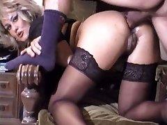 Super-cute mature anal retro