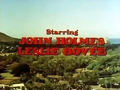 Classic porn with John Holmes getting his big dick sucked
