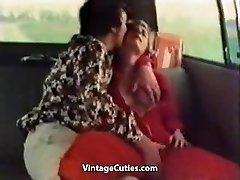 Kinky Gal Fingered in a Car